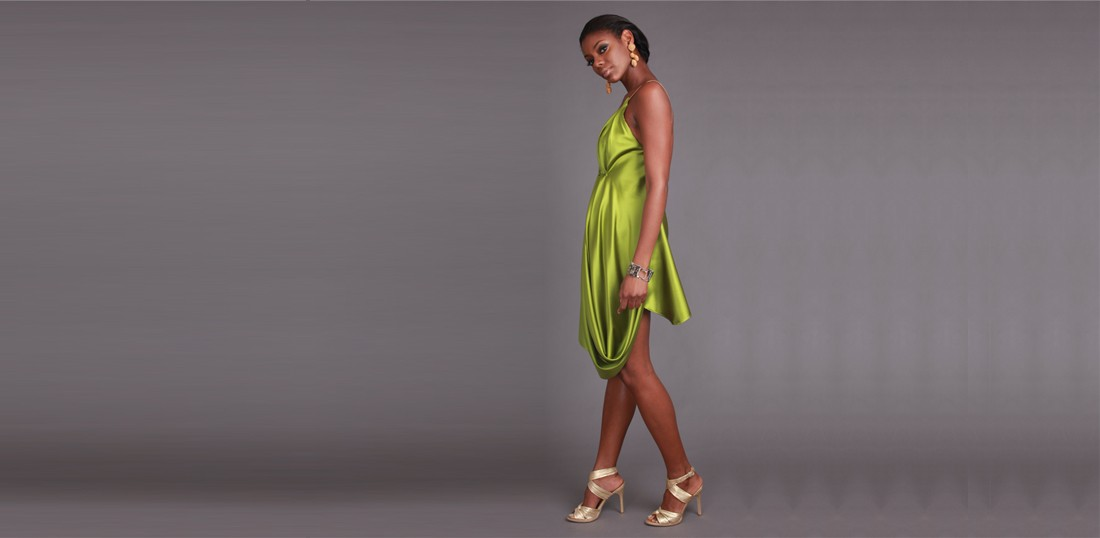 The Adore Collection Green Dress