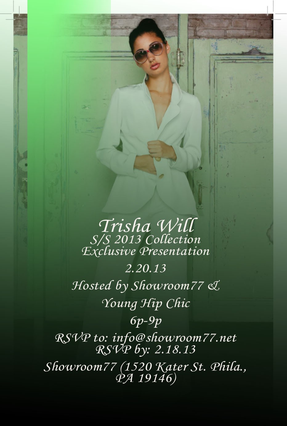 TRISHA WILL 2013 Collection invite